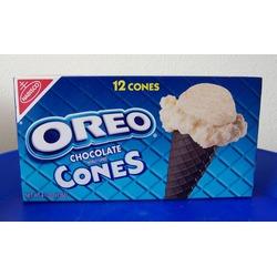 Oreo Chocolate Cones