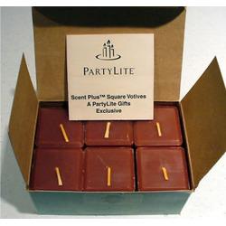 PartyLite Cinnamon Sticks ScentPlus Square Votives