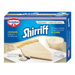 Dr. Oetker Shirriff Coconut Cooked Pudding and Pie Filling Mix
