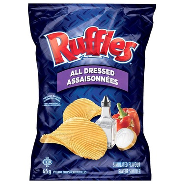Ruffles All Dressed Chips