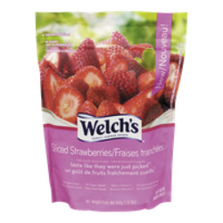 Welch's Frozen Sliced Strawberries