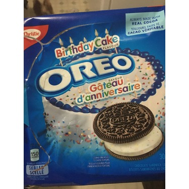 Terrific Oreo Birthday Cake Cookies Reviews In Cookies Chickadvisor Funny Birthday Cards Online Overcheapnameinfo
