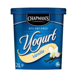 Chapman's Frozen Vanilla Yogurt