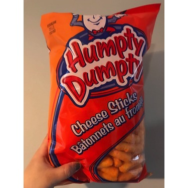 Humpty Dumpty Cheese Sticks