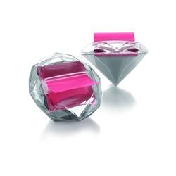 Post-It Notes Diamond Shaped Dispenser