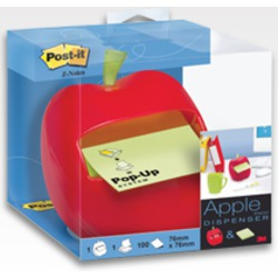 Post-It Notes Apple Shaped Dispenser