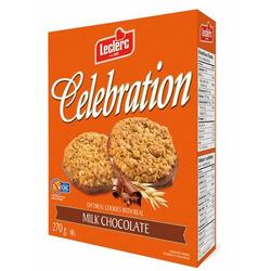 Leclerc Celebration Milk Chocolate Oatmeal Cookies