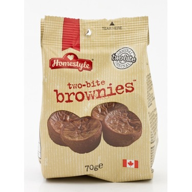 Two-Bite Brownies