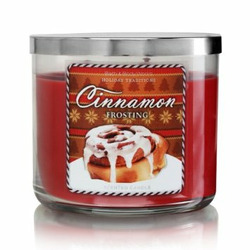 Bath & Body Works Cinnamon Frosting Candle
