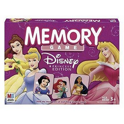 Memory Game — Disney Princess Edition