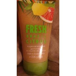 Bath & Body Works Fresh Brazil Citrus sugarcane scrub