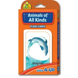 School Zone Animal of All Kinds Flash Cards