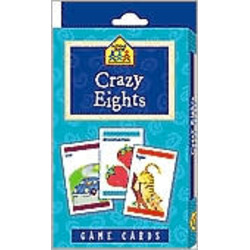 School Zone Crazy Eights Game Cards