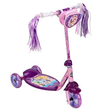Disney Princes 3-Wheel Scooter