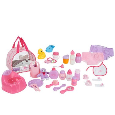 You & Me Baby Doll Care Accessories in Bag