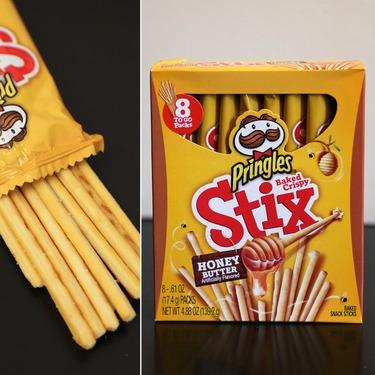 Pringles Stix Honey Butter Flavour
