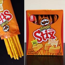 Pringles Stix Cheddar