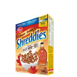 Shreddies Maple Cereal
