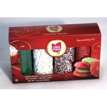 Cake Mate Decors — Christmas Mix