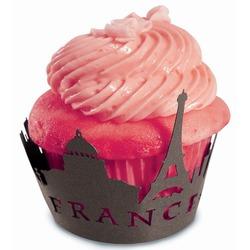 Paris Cupcake Wraps