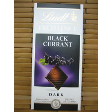 Lindt Excellence Intense Black Currant Dark Chocolate