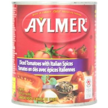 Aylmer Diced Tomatoes with Italian Spices