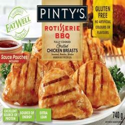 Pinty's Rotisserie BBQ Chicken Breasts