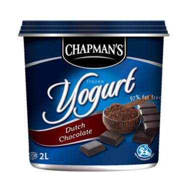 Chapman's Frozen Yogurt Dutch Chocolate
