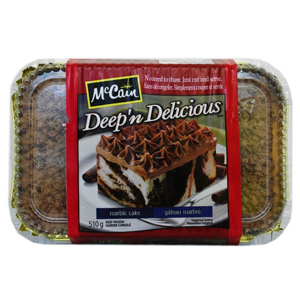 Mccain Deep N Delicious Marble Cake Reviews In Frozen