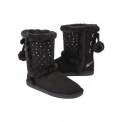 Justice — Cozy Black Boots