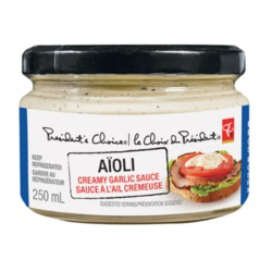 PC Aioli Creamy Garlic Sauce