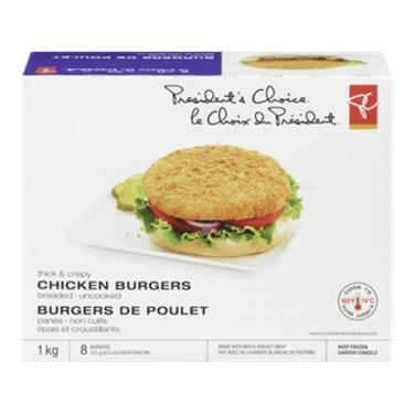 PC Thick & Crispy Chicken Burgers