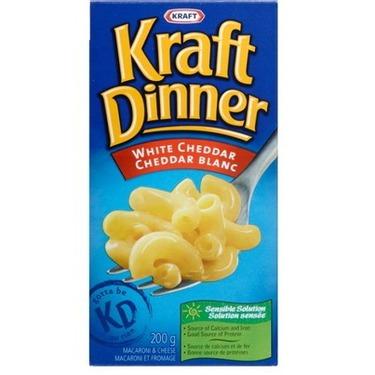 Kraft Dinner White Cheddar