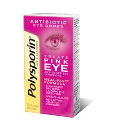 Polysporin Eye & Ear Drops, for Pink Eye