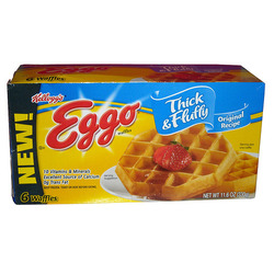 Eggo Thick and Fluffy Belgian Waffles Original