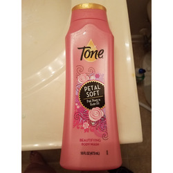 Tone Moisturizing Body Wash - Petal Soft with Pink Peony and Rose Oil