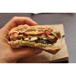 Veggie Burger A&W;
