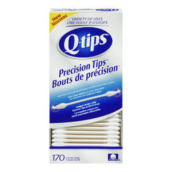Q-Tips Precision Tips Cotton Swabs