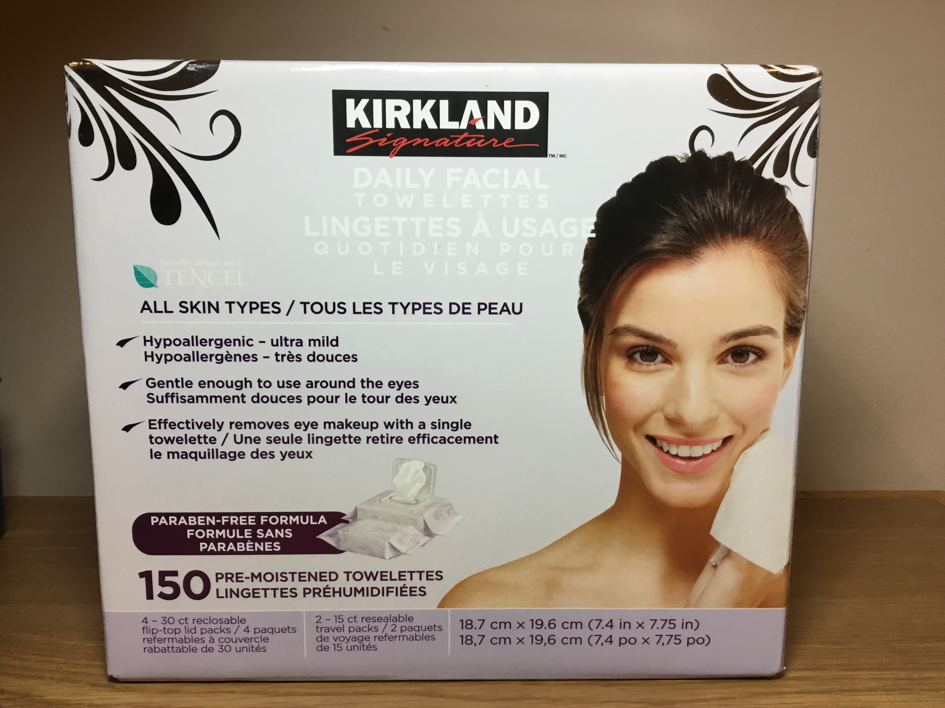 Kirkland Daily Facial Cleansing Towelettes Reviews In Face