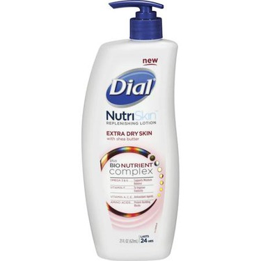 Dial NutriSkin Replenishing Lotion Extra Dry Skin with Shea Butter