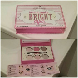 essence How To Make Nude Eyes Eye Shadow Kit