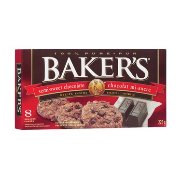 Baker's Semi-Sweet Chocolate Squares