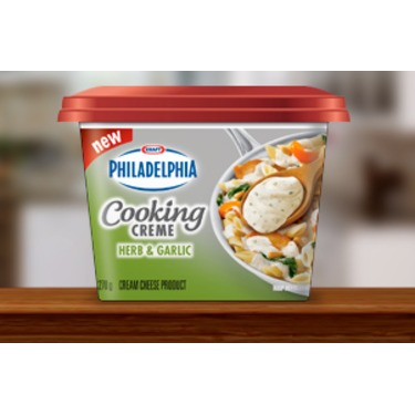 Philadelphia Cooking Cream Herb & Garlic