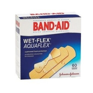 Wet band aid