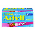 Advil Junior Strength Fruit Flavoured Chewable Tablets