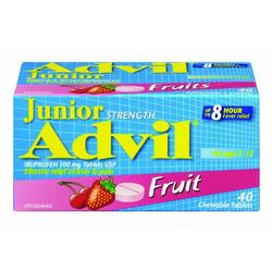 Advil Junior Strength Fruit Flavoured