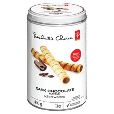 PC Dark Chocolate Rolled Wafers