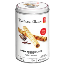PC Dark Chocolate Rolled Wafers