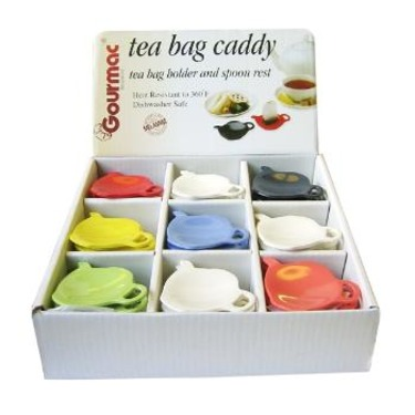 Tea Bag and Caddy Spoon Rest