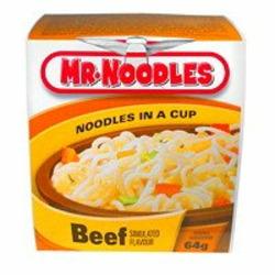 Mr. Noodles Beef Flavor